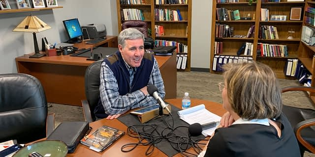 Pastor Colin's Guest Interview on Nancy Guthrie Podcast