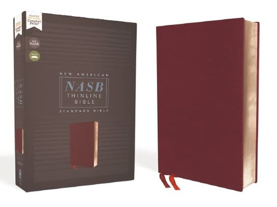New American Standard Bible (NASB) 1995 Edition Now Available in Comfort Print