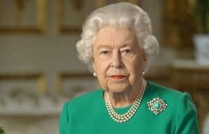 This is a thumbnail for the post In the United Kingdom, a monarch's message of hope