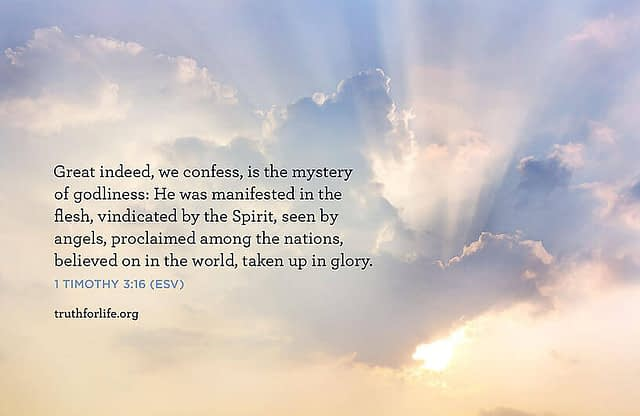 Wallpaper: The Mystery of Godliness