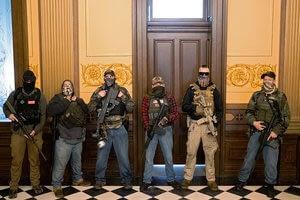 Guns in Michigan Capitol: Defense of liberty or intimidation?