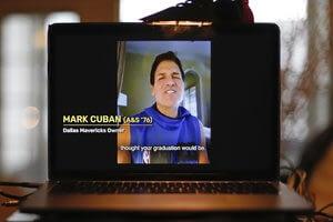 Celebrities offer advice, hope to 2020 grads via virtual lectern