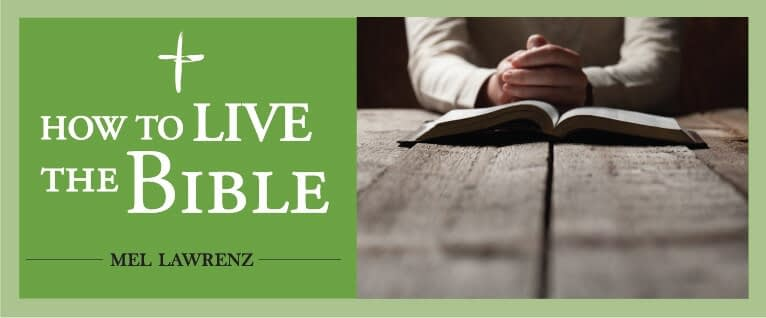 This is a thumbnail for the post How to Live the Bible — 10 Ways to Have a Better Year in 2021