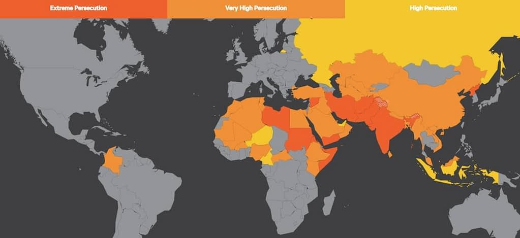 This is a thumbnail for the post Violence Against Christians Surges; More Than 1,000% Increase in Attacks on Churches Since 2018