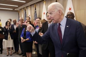Biden's big turnaround upends campaign narrative