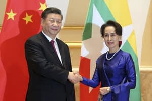 China's President Xi on first visit to Myanmar. Why?