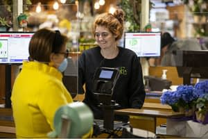 A day in the life of a grocer: Social distance, community embrace