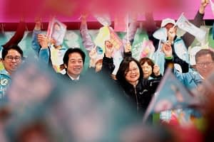 This is a thumbnail for the post Closer ties with China? Taiwan's voters look likely to say, 'No thanks.'