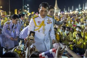 Thai royalists defend king amid protests: 'We will not abandon him'