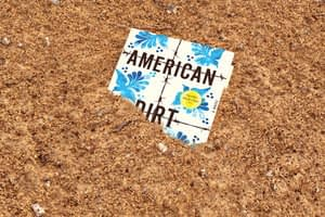 'American Dirt': Kicking up dust in the book industry