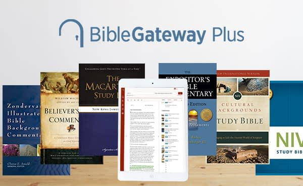 This is a thumbnail for the post Easily study Scripture on your own with Bible Gateway Plus