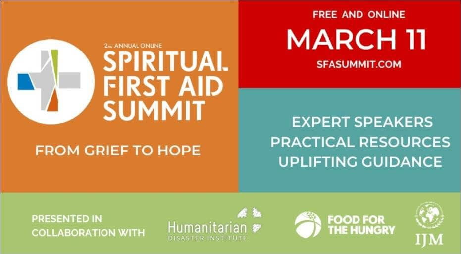 This is a thumbnail for the post Spiritual First Aid Summit: Journey from Grief to Hope