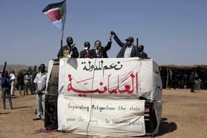 Sudan races for peace, then democracy