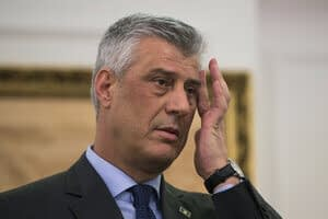 Kosovo president and others charged for war crimes against Serbs